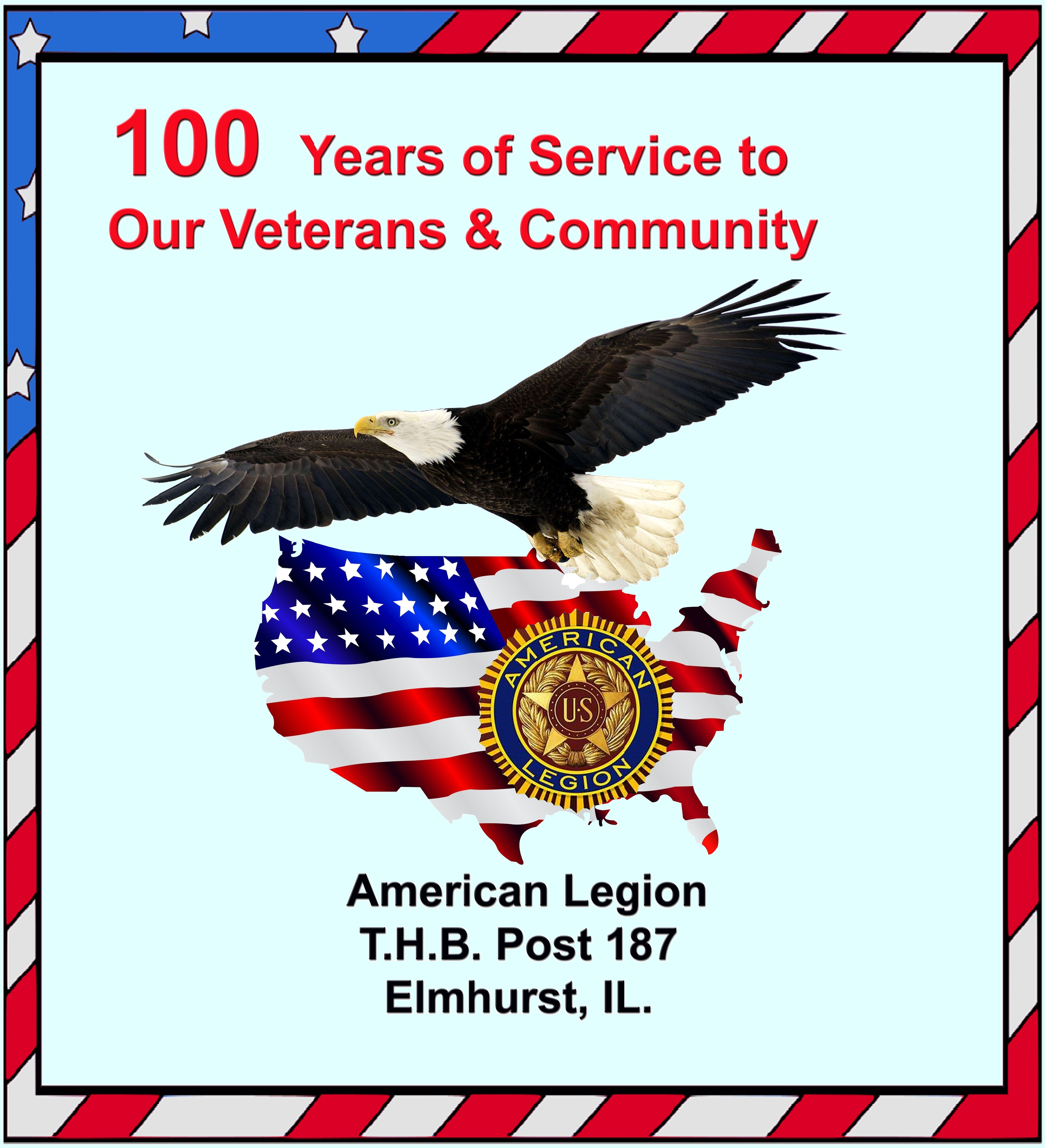 American Legion 100th Year in service to vets and community