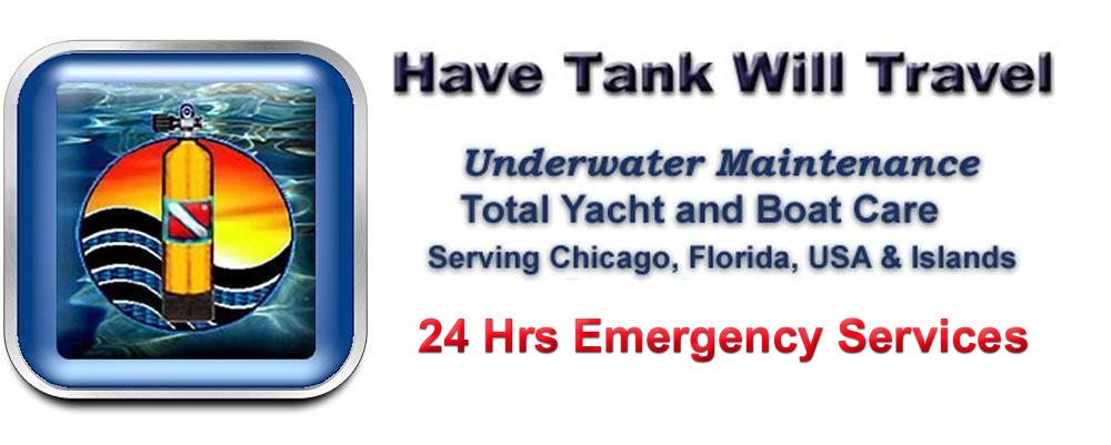 HTWT Logo Underwater Maiintenance Total Yacht and Boat Care Serving Chicago USA Florida and Islands 24 Hour Emergency Service